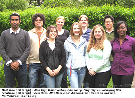 Cluster Fellows 2009-2010